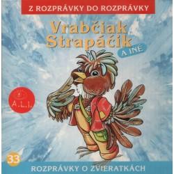 Vrabčiak Strapáčik a jeho rozprávky - CD
