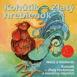 Kohútik- Zlatý hrebienok - CD