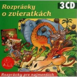 Rozprávky o zvieratkách - 3CD