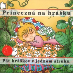 Princezná na hrášku - CD