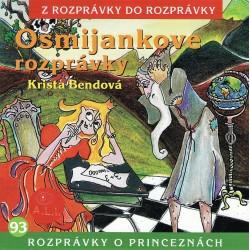 Osmijankove rozprávky o princeznách - CD