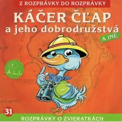 Káčer Čľap a jeho dobrodružstvá - CD