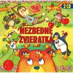 Nezbedné zvieratká/Rozprávky a pesničky - 2CD