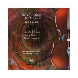 Italian Sonatas for Violin and Guitar - CD