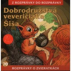 Dobrodružstvá veveričiaka Šiša - CD