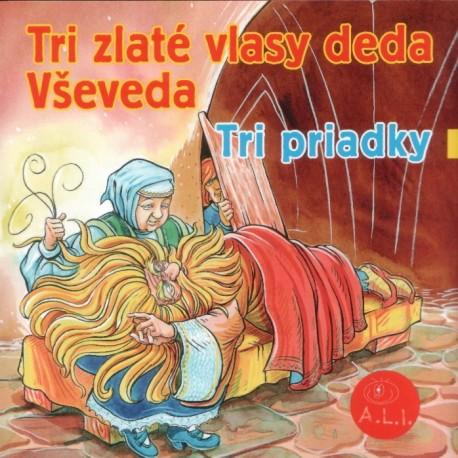 Tri zlaté vlasy deda Vševeda - CD