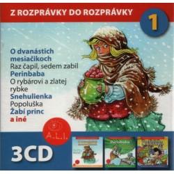 Z rozprávky do rozprávky 1 - 3CD box