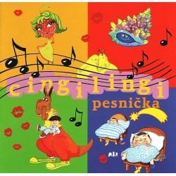 Cingi - lingi pesnička - pesničky pre detičky - CD