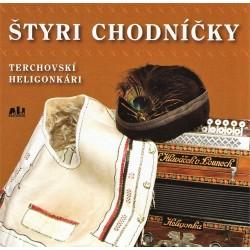 Terchovskí heligonkári - Štyri chodníčky - CD