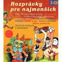 Rozprávky pre najemnších - 3CD