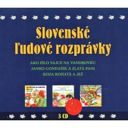 Slovenské ľudové rozprávky - 3CD