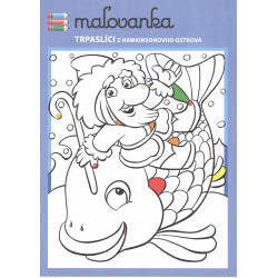 MALOVANKA + CD - TRPASLICI Z HAWKINSONOVHO OSTROVA