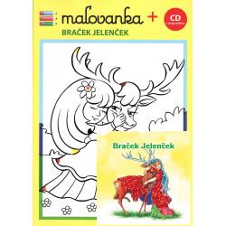 MALOVANKA - BRACEK JELENCEK